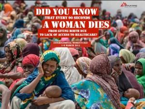 MSF International Women Day FB Ad